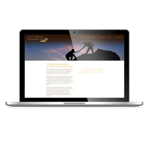 MJ Associates website for Sanabilis Health